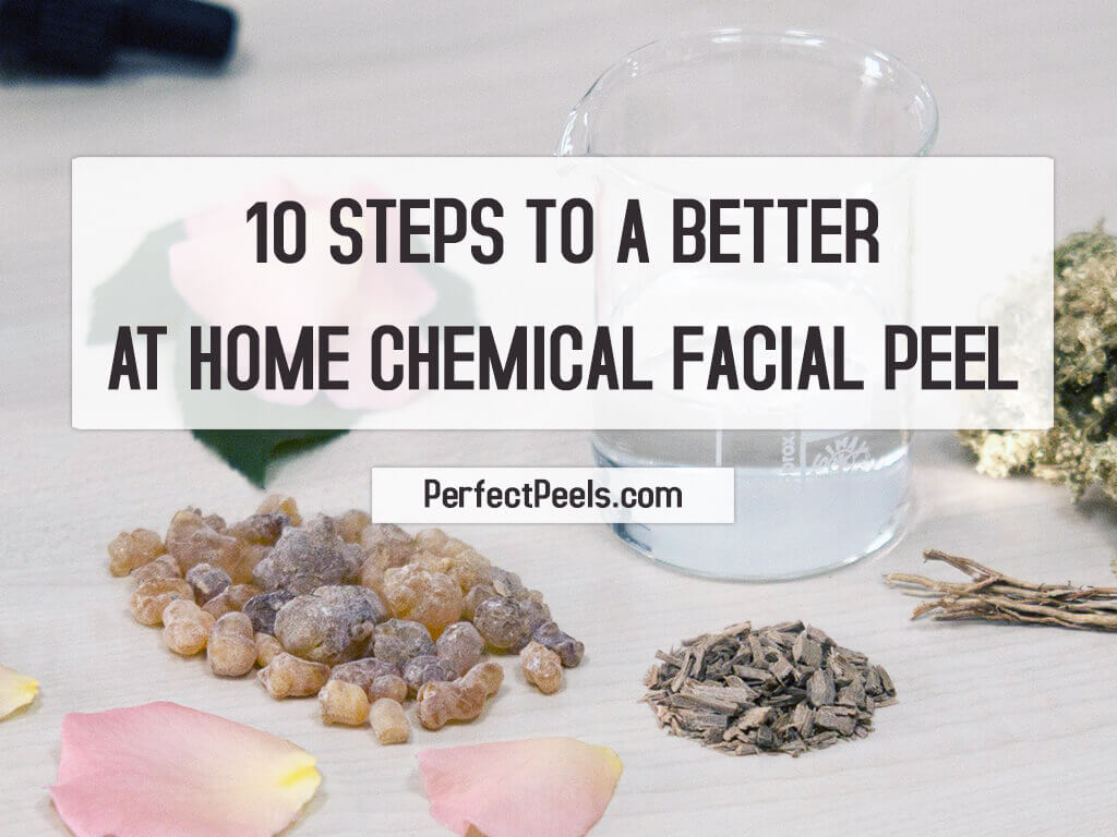 at home chemical facial peel