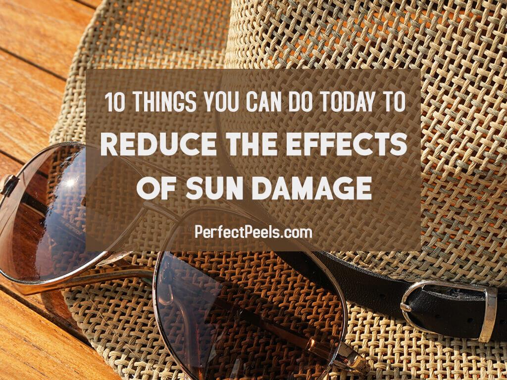 effects of sun damage