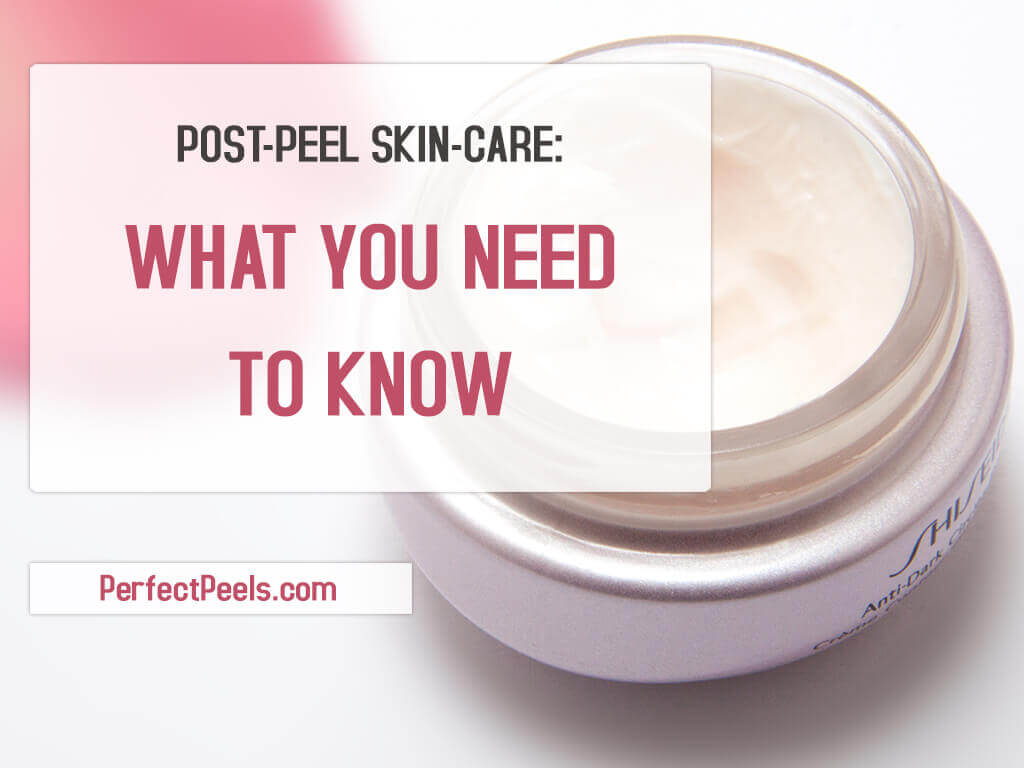 post peel skincare
