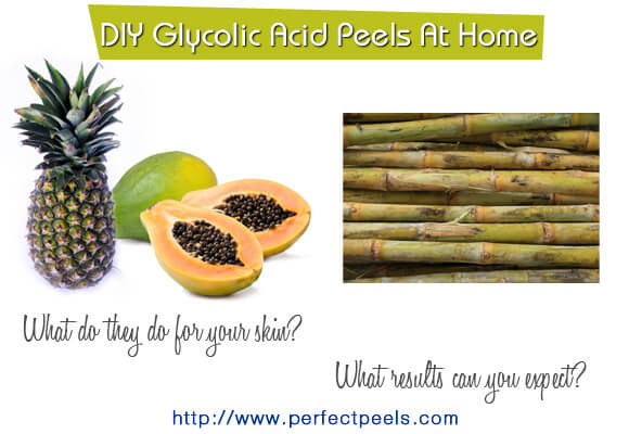 glycolic acid chemical peels