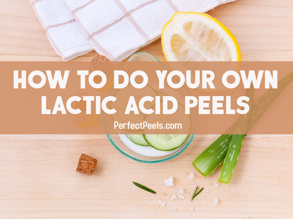 lactic acid peels