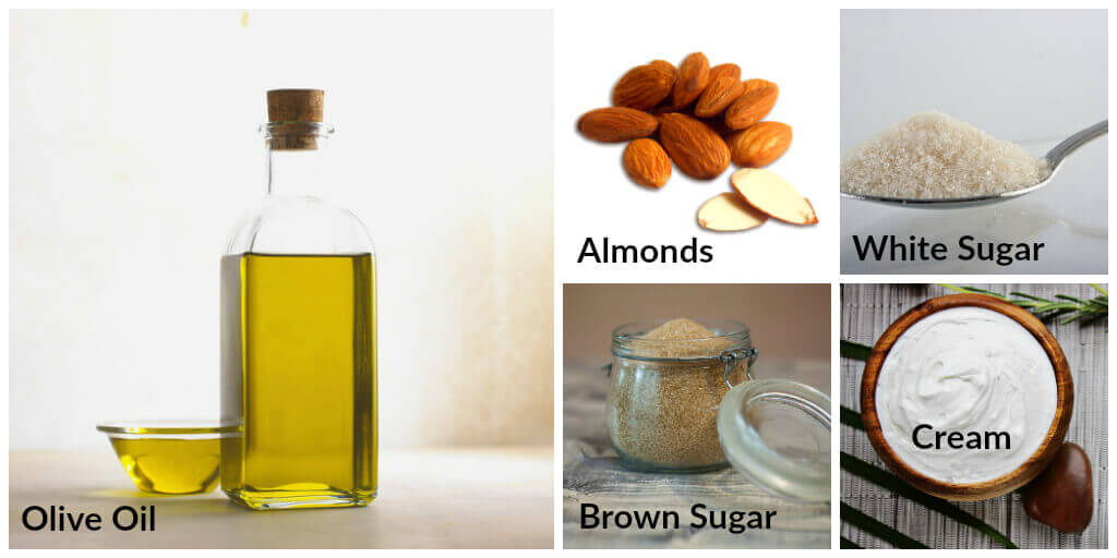 almond sugar skin care recipe