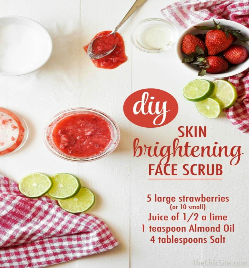 homemade face scrub