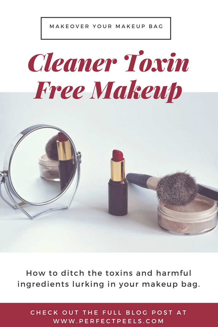 Who's ready for makeup without chemicals? This article can help you get rid of products that harm your skin and learn about non-toxic, healthy makeup alternatives.