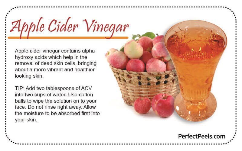apple cider vinegar for natural skin care