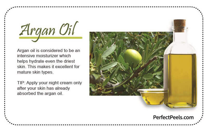 argan oil for natural skin care