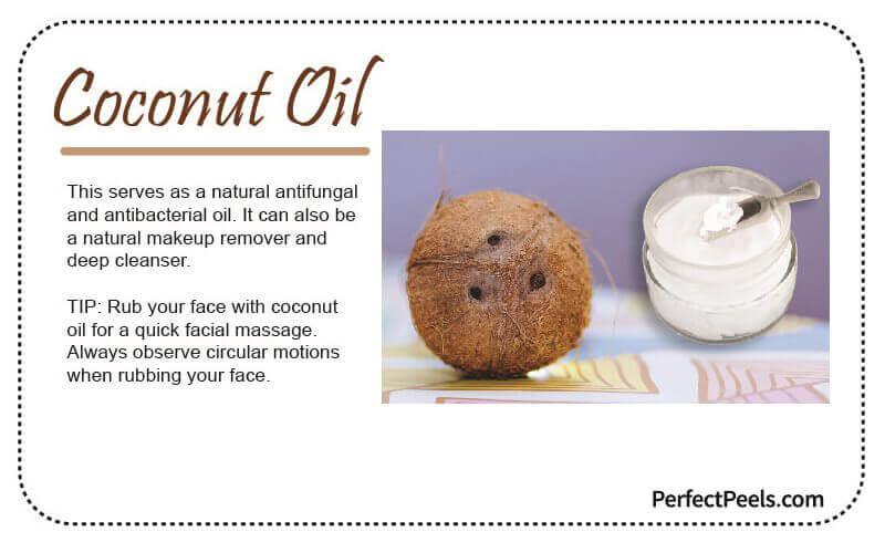 coconut oil for natural skin care
