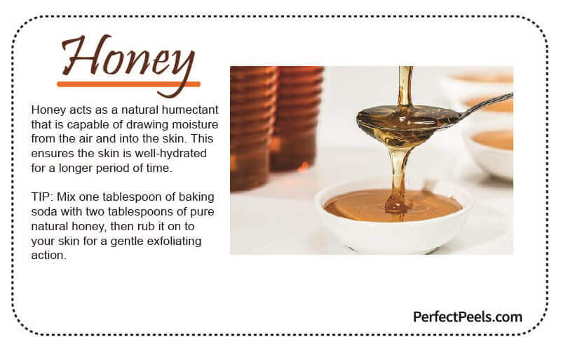 honey for natural skin care