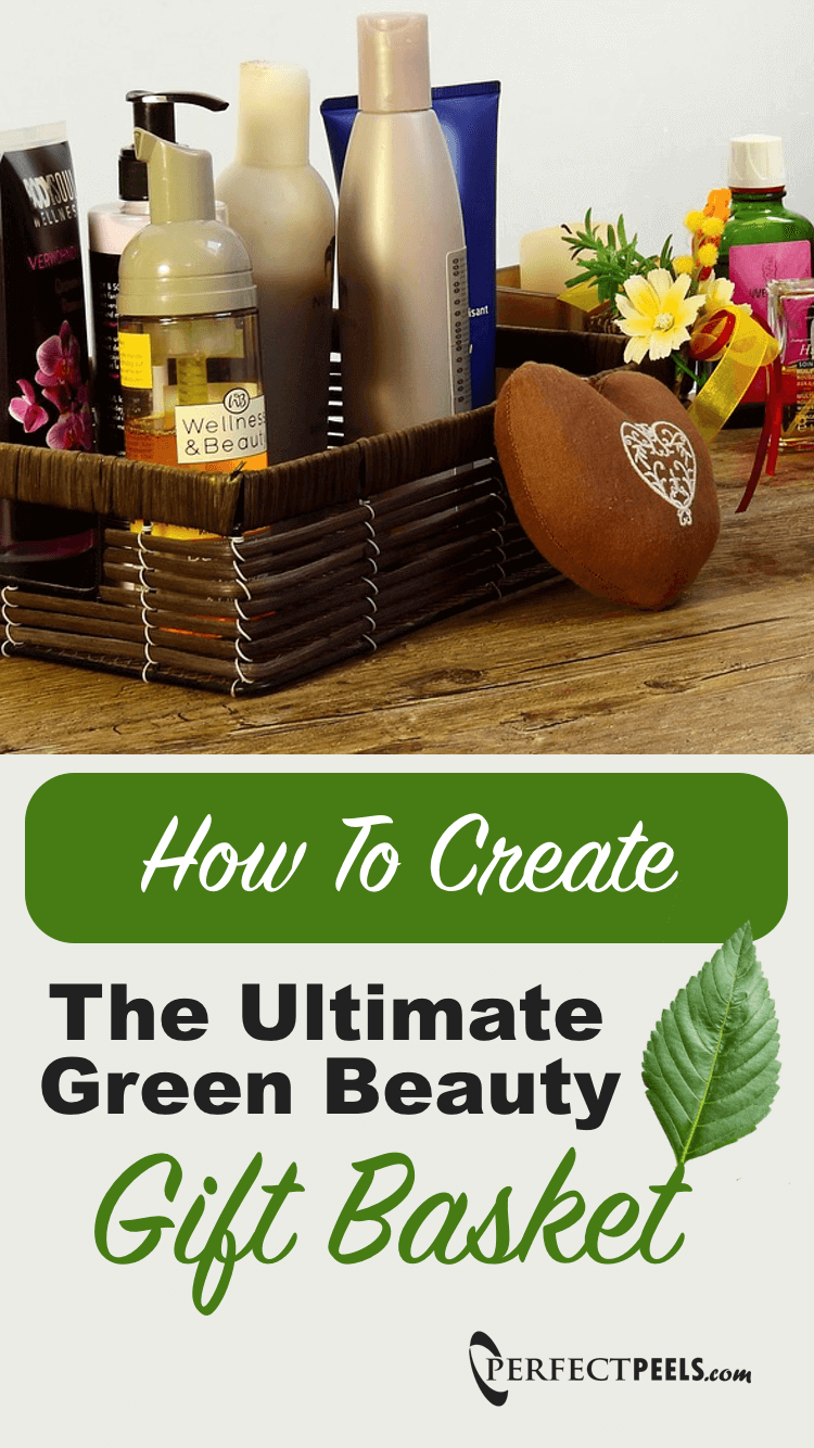 Want to make a green beauty gift basket? Get a nice basket and fill it with some of these amazing green beauty products!