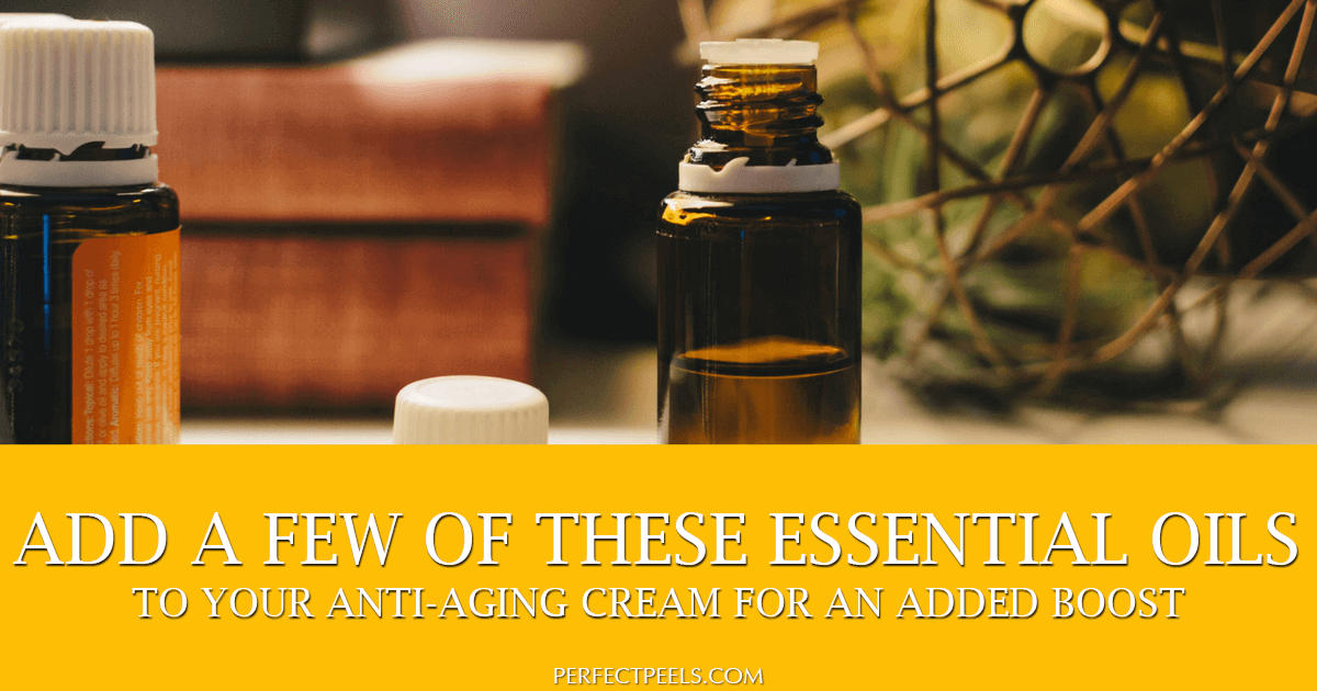 essential oils anti aging cream