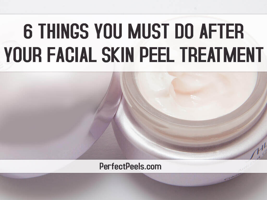 facial skin peel treatment