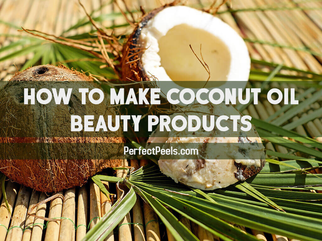 coconut oil beauty products