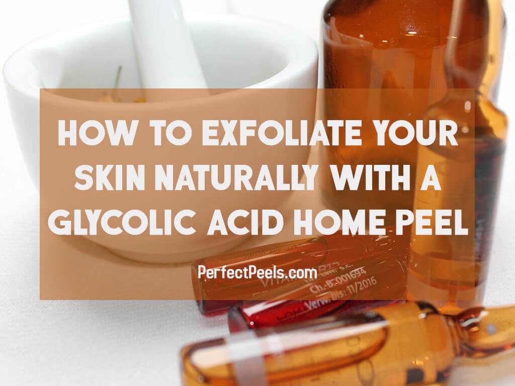 glycolic acid home peel