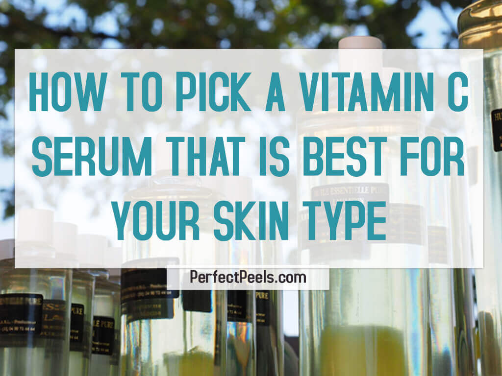 how to pick a vitamin c serum