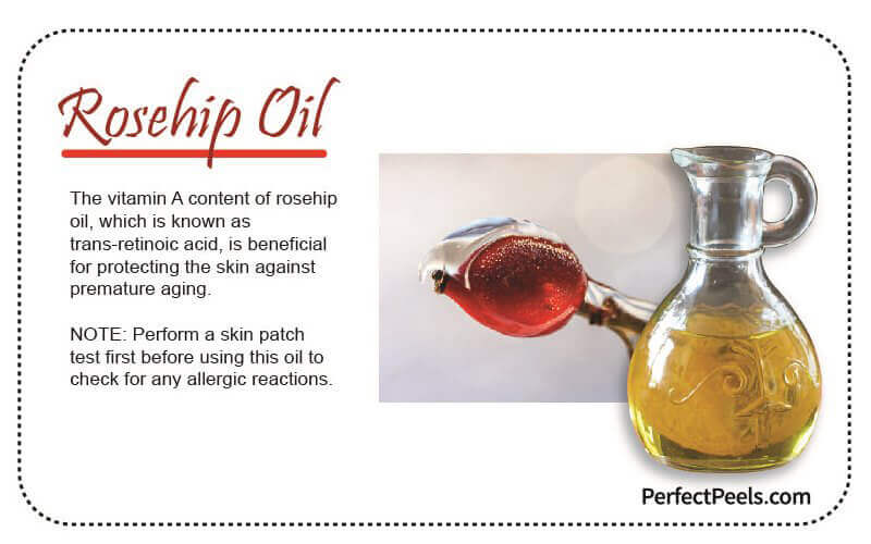 rosehip oil for natural skin care