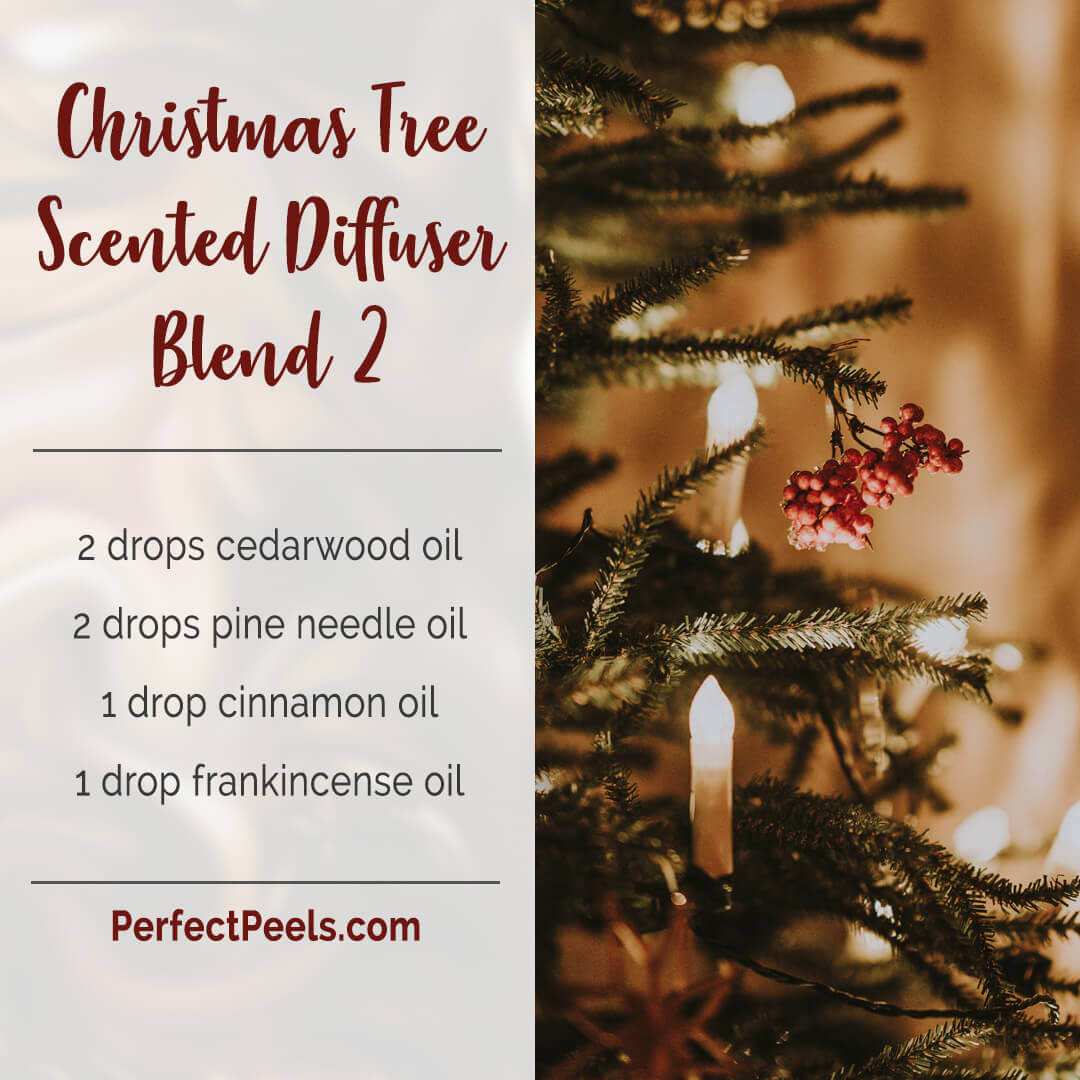 christmas spirit diffuser blends with cedarwood