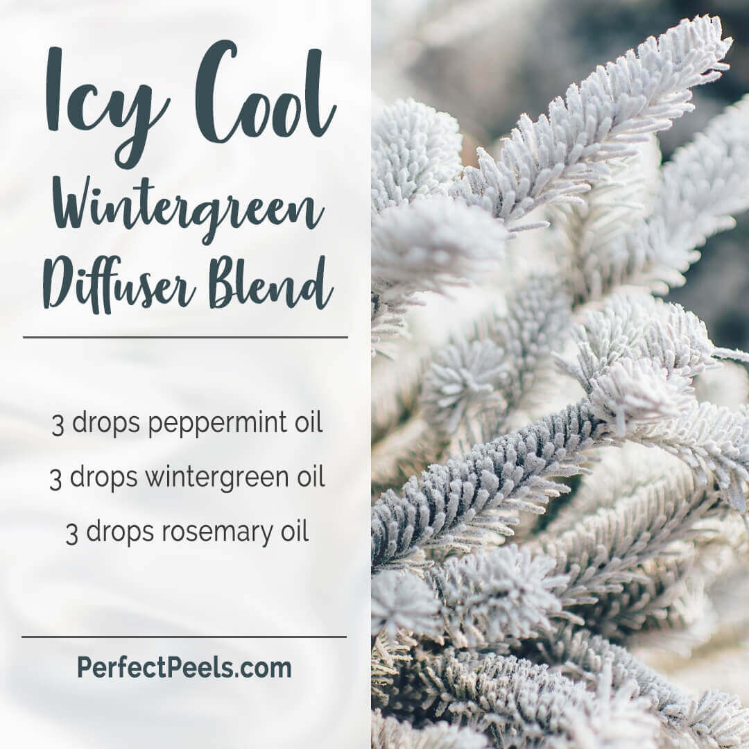 christmas spirit diffuser blends with rosemary