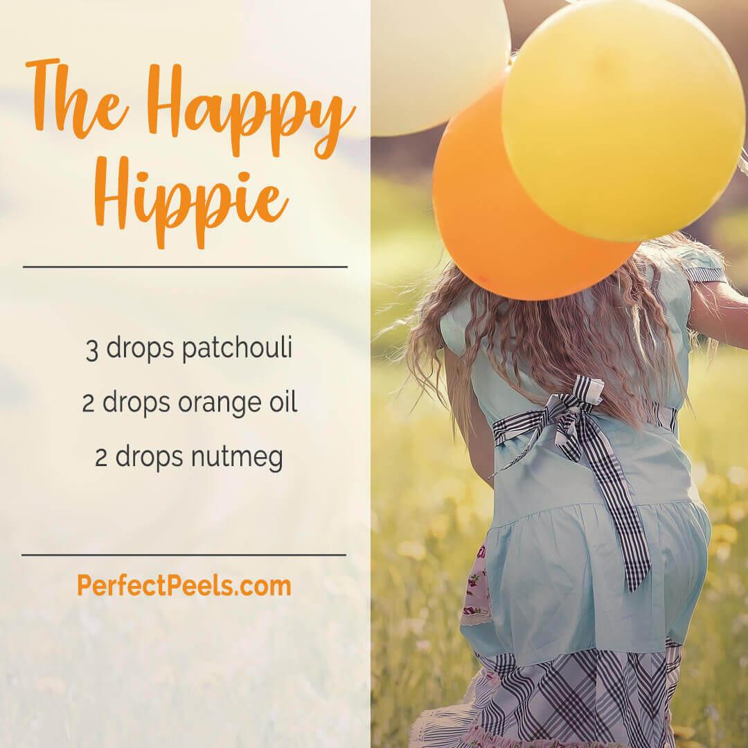 """The Happy Hippie"" - Patchouli, Sweet Orange and Nutmeg"