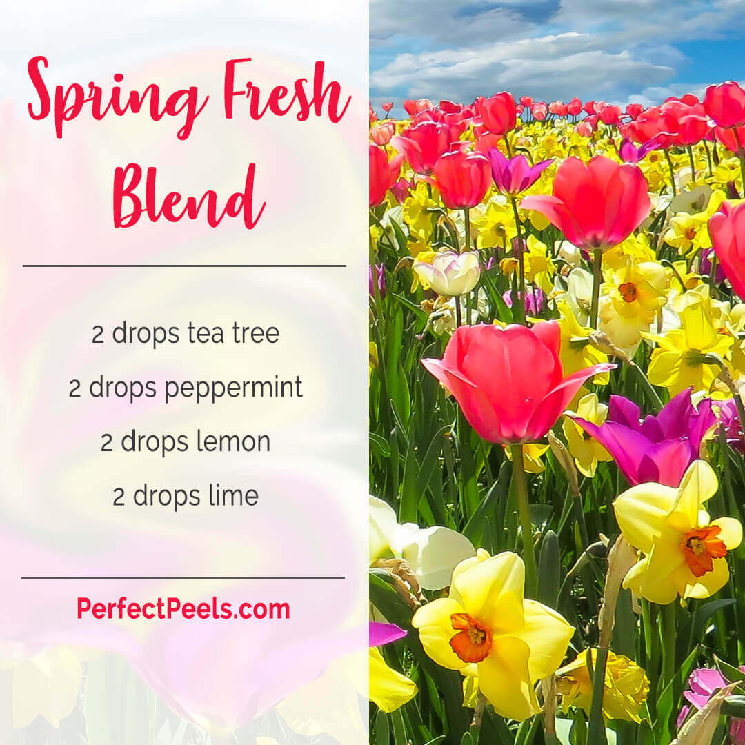 essential oil diffuser blends with peppermint