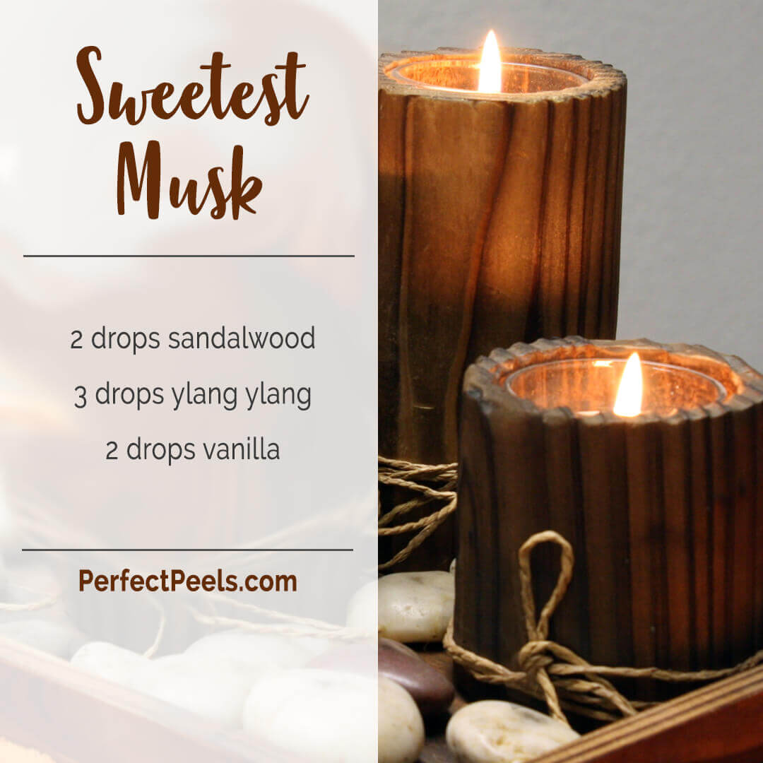 essential oil diffuser blends with sandalwood
