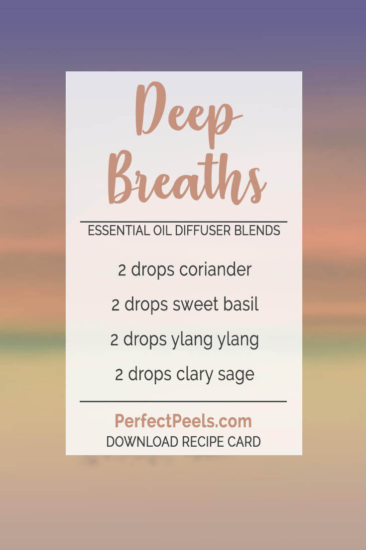 essential oil diffuser blends with ylang ylang