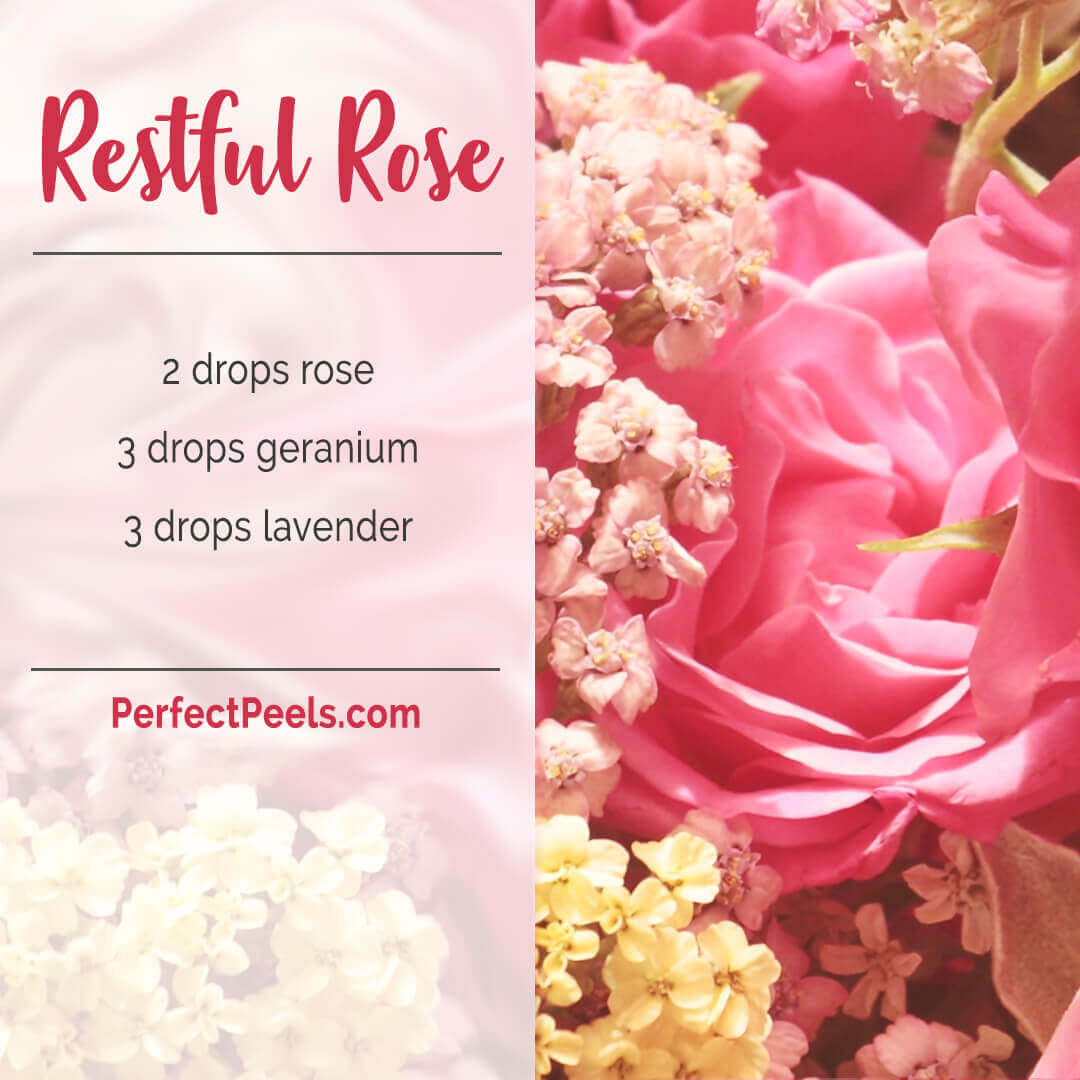 geranium essential oil diffuser blends recipes