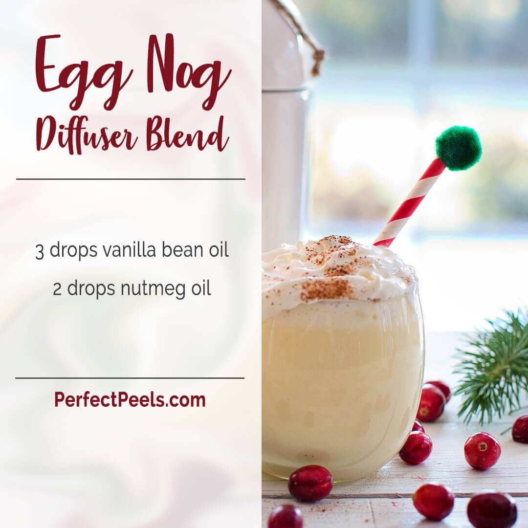 holiday essential oil diffuser blends