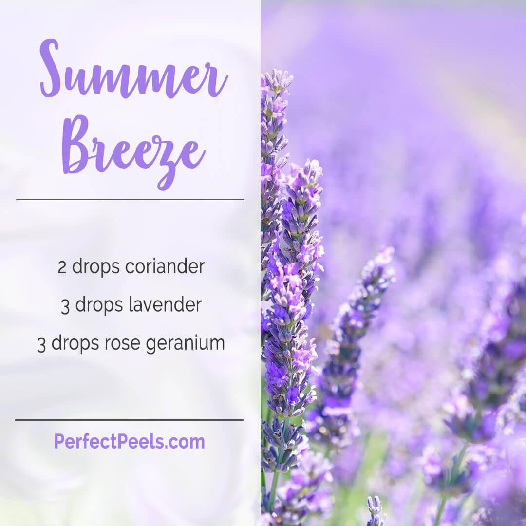 lavender oil blends for diffuser